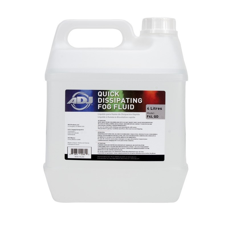 Fog Juice (Quick Dissipating) 1 gallon
