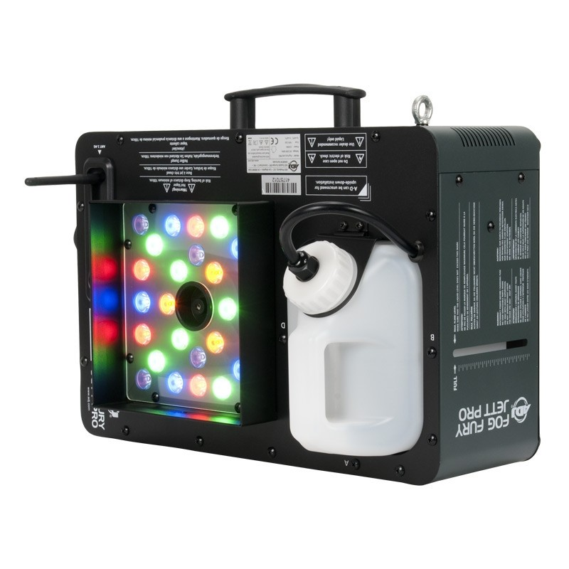 ADJ Fog Fury Jet Pro RGB Fog Machine (Fog juice sold seperately)