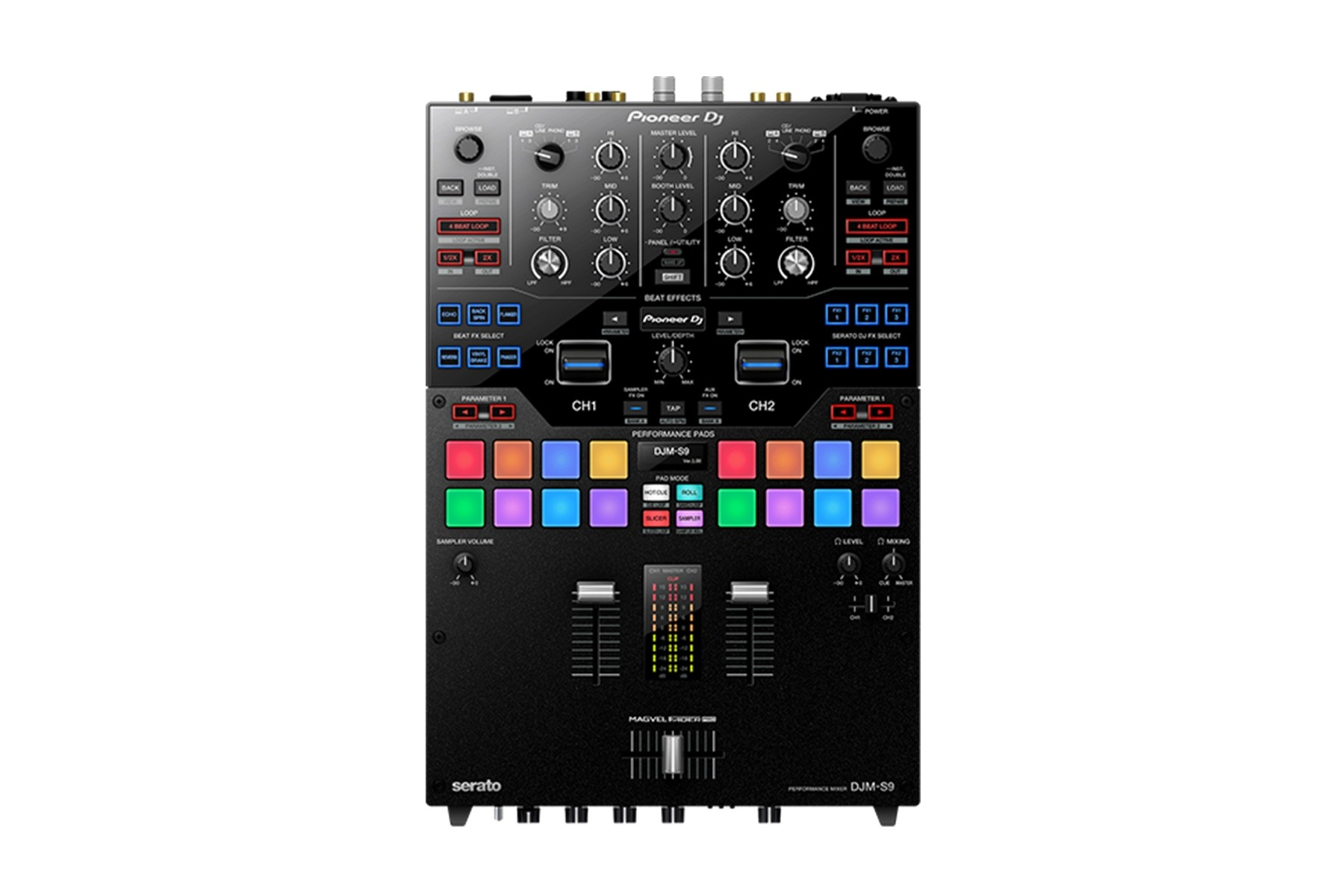 Pioneer DJM-S9 2 Channel Dj Mixer (Serato Compatable)