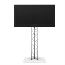 "70"" LCD Flat Screen Television Display (TV) on truss stand"