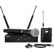 SHure QLXD Combo Handheld & Lavalier Wireless Microphone System