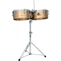 LP Timbales Set, Stand and Cowbell Mount